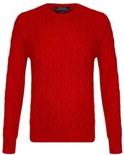 Красный свитер кашемировый Polo Ralph Lauren