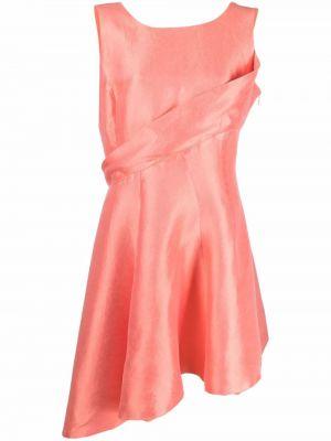 Шелковое платье - розовое Christian Dior