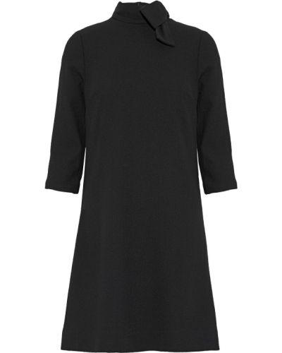 Шерстяное платье мини - черное Goat