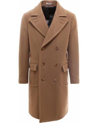 Brązowy płaszcz Boglioli