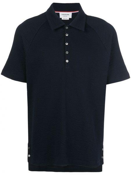 Koszula krótkie z krótkim rękawem klasyczna prosto Thom Browne