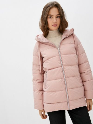 Розовая утепленная куртка Zolla
