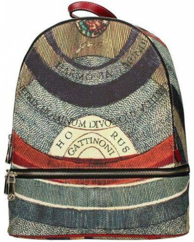 Czerwony plecak Gattinoni