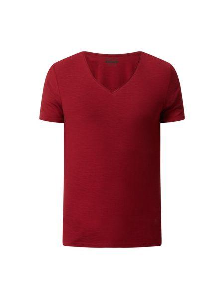 T-shirt z dekoltem w serek Review