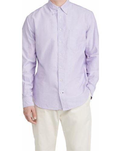 Оксфордская рубашка с длинными рукавами с воротником с манжетами Gitman Vintage