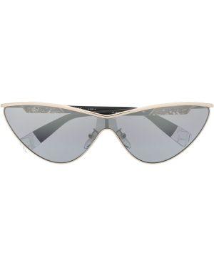 Солнцезащитные очки металлические - хаки Furla