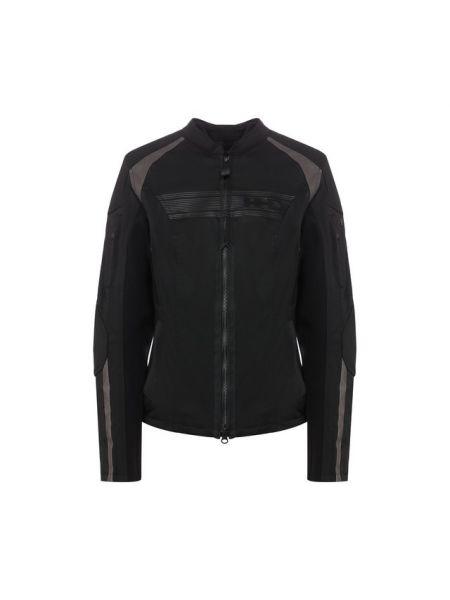 Нейлоновая куртка на молнии со вставками с подкладкой Harley Davidson