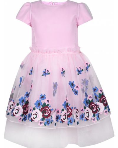 Платье с рукавами на молнии с вырезом Simonetta Mini