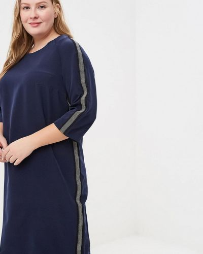 Платье - синее Jp
