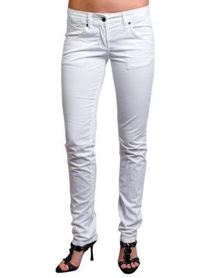 Хлопковые джинсы - белые Exte