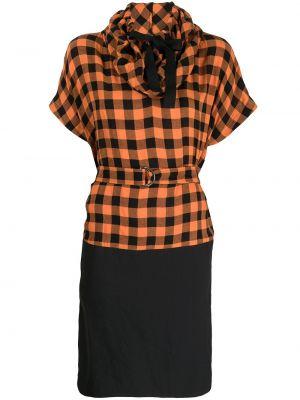 Шерстяное платье - черное Kenzo