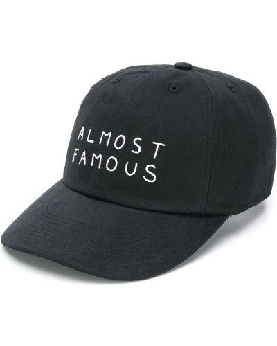 Czarna czapka bawełniana Nasaseasons