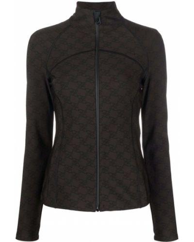 Спортивная куртка - коричневая Fendi