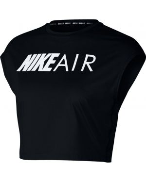 Czarny crop top Nike