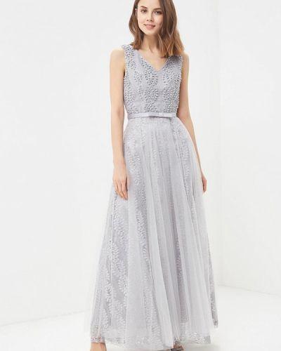 Платье серое Paccio