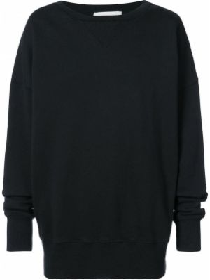 Czarny sweter bawełniany Faith Connexion