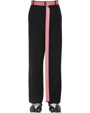 Klasyczne czarne spodnie klasyczne wełniane Botter