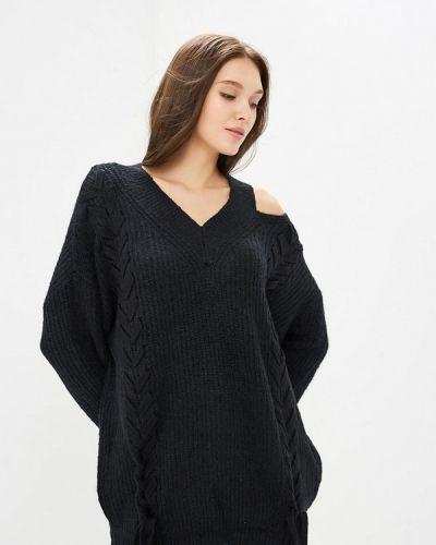 Пуловер черный Zeza