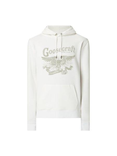 Prążkowana bluza z kapturem bawełniana Goosecraft