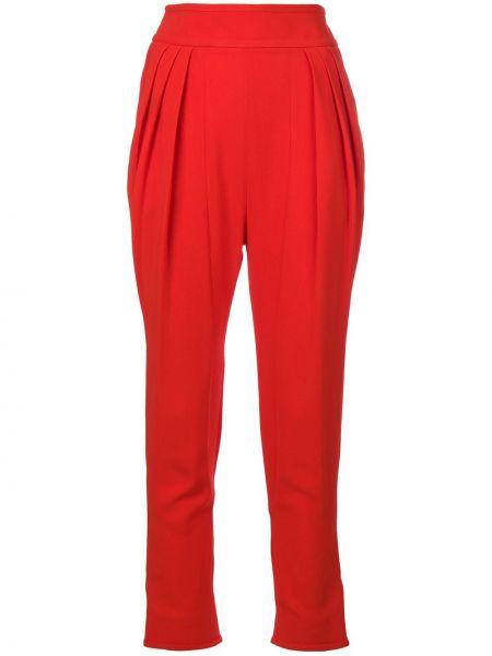 Spodnie z wysokim stanem z kieszeniami elastyczne Givenchy