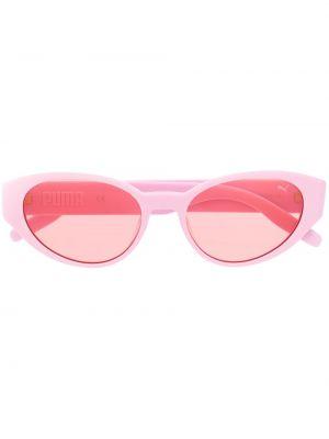 Прямые муслиновые розовые солнцезащитные очки Puma
