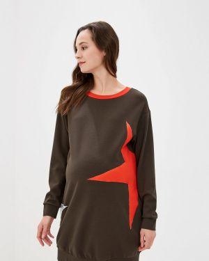 Платье платье-толстовка осеннее Danmaralex