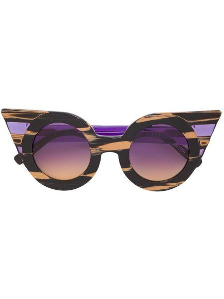 Муслиновые черные солнцезащитные очки Delalle