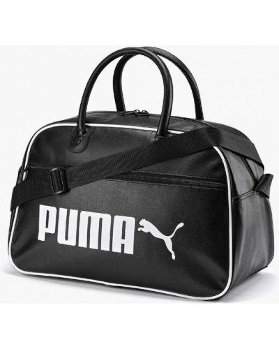 Спортивная сумка кожаная Puma
