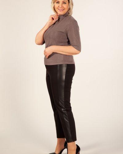 Классические брюки зауженные на резинке милада