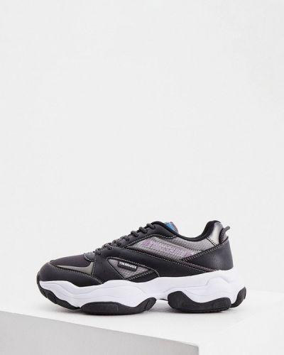 Черные кроссовки Trussardi
