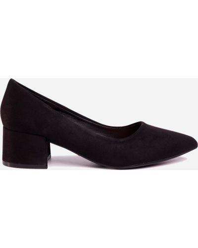 Яркие туфли - черные Deezee