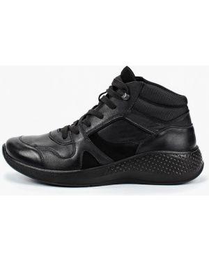 Высокие кроссовки черные Ralf Ringer