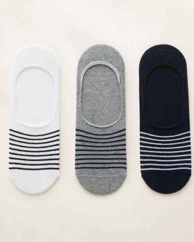 Короткие носки хлопковые с узором Mango Man