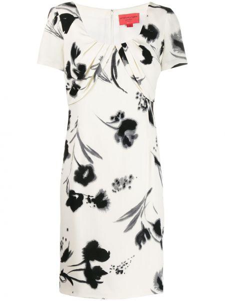 Плиссированное платье мини винтажное Emanuel Ungaro Pre-owned