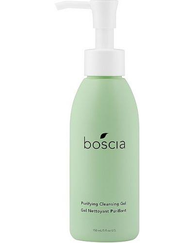 Ciepły zielony bezpłatne cięcie żel do mycia twarzy czyszczenie Boscia