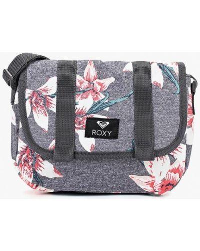 Серая сумка через плечо Roxy