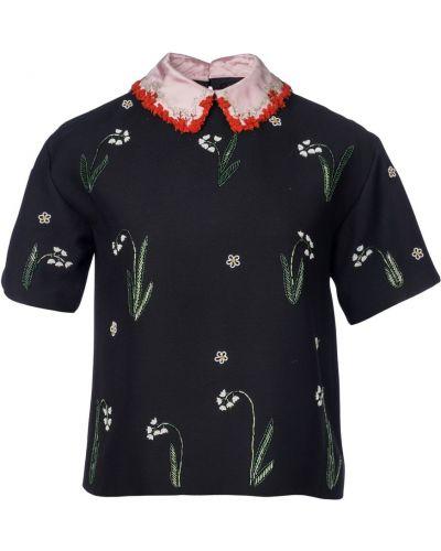 Bluzka z haftem vintage Valentino Vintage