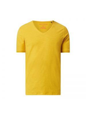 T-shirt bawełniany z dekoltem w serek Mcneal