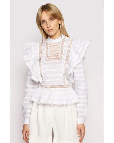 Biała bluzka Silvian Heach