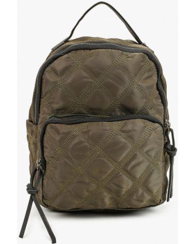 Текстильный зеленый рюкзак Vitacci