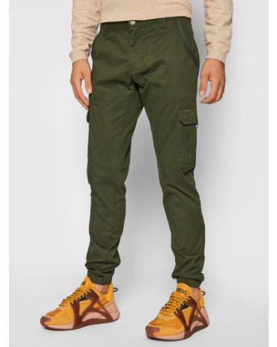 Zielone joggery Tommy Jeans