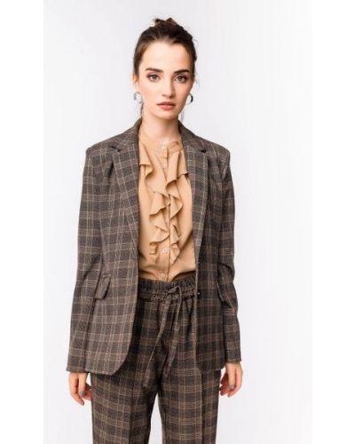 Пиджак классический - коричневый Alito