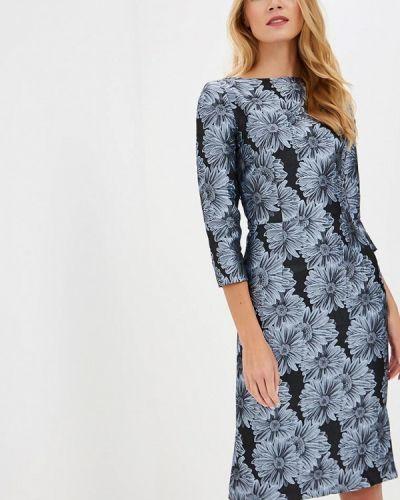 Вечернее платье осеннее серое Madam T
