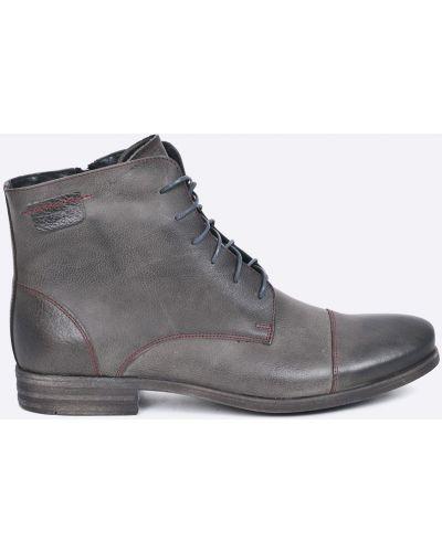 Серые туфли Domeno
