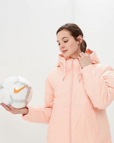 Пуховик розовый Nike