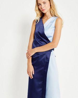 Синее платье осеннее Tutto Bene