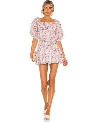 Sukienka mini boho w paski bawełniana Minkpink