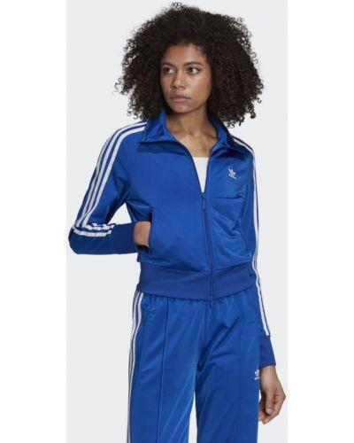 Модная белая олимпийка Adidas