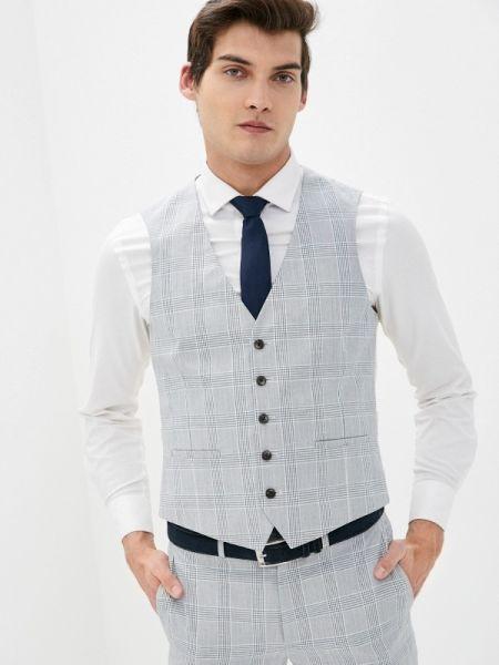 Серый костюм Burton Menswear London